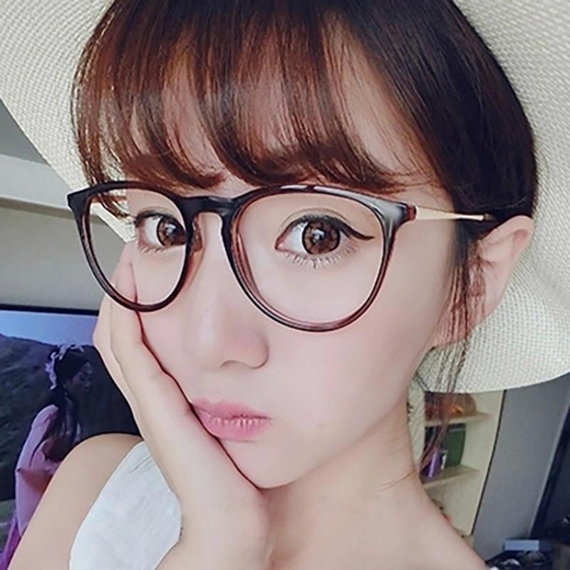 8f2337b7d2a3f 2019 Fashion Black Eyeglasses Retro Vintage Metal Optical Frame Reading  Glasses Men Women Myopia Eye Glasses Frame Oculos De Grau From Mudiaolan