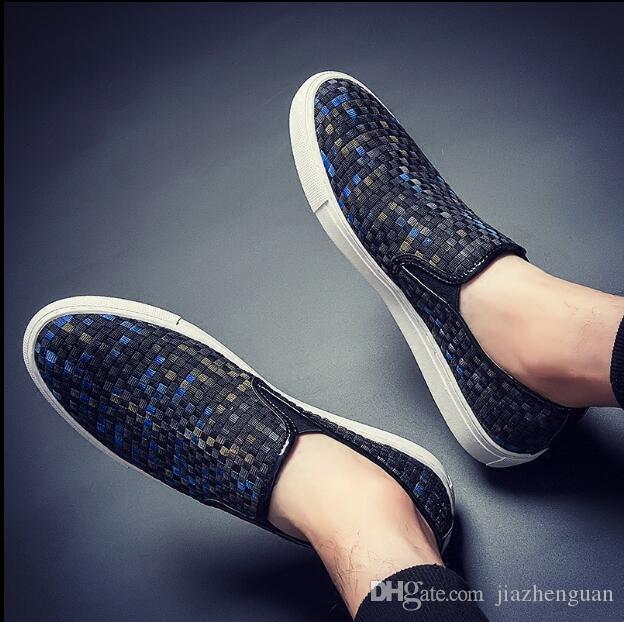 2019 Nouveau style hommes chaussures mocassin en cuir décontractée conduite Oxford chaussures hommes mocassins mocassins italien chaussures de mariage M759