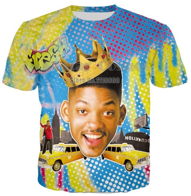Fresh Prince 90 S Sk8r Hipster Will Smith Trill White Polyester T Shirt  Wholesale Summer Fashion Graphics Design S XXXXXL U185 Buy Funny T Shirts  Shirts And ... 34f63c765f