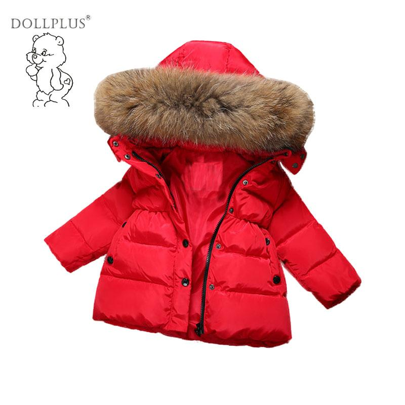 04bbab4f7 30 Warm Kids Winter Jackets For Girls 2017 Kids Duck Down Jackets ...