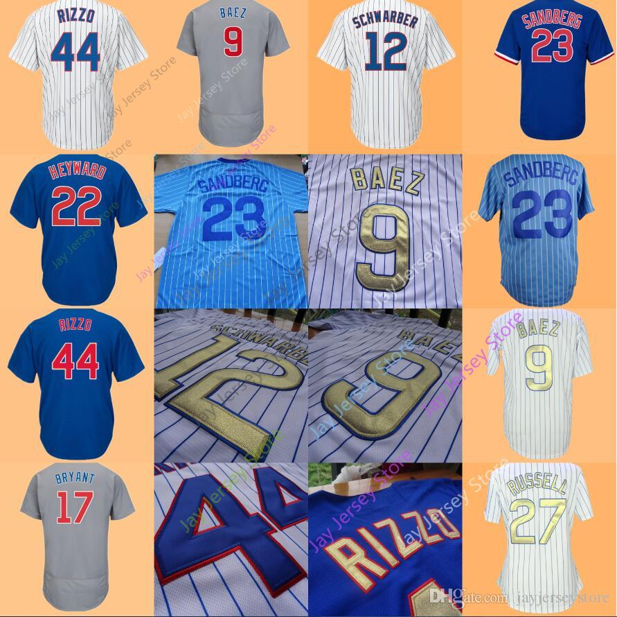 e078d25f7 ... cubs addison russell mlb jersey shirt youth kids b 236b8 1dcd4; new  zealand chicago jersey 17 bryant 44 rizzo 9 javier baez 12 kyle schwarber 3  david