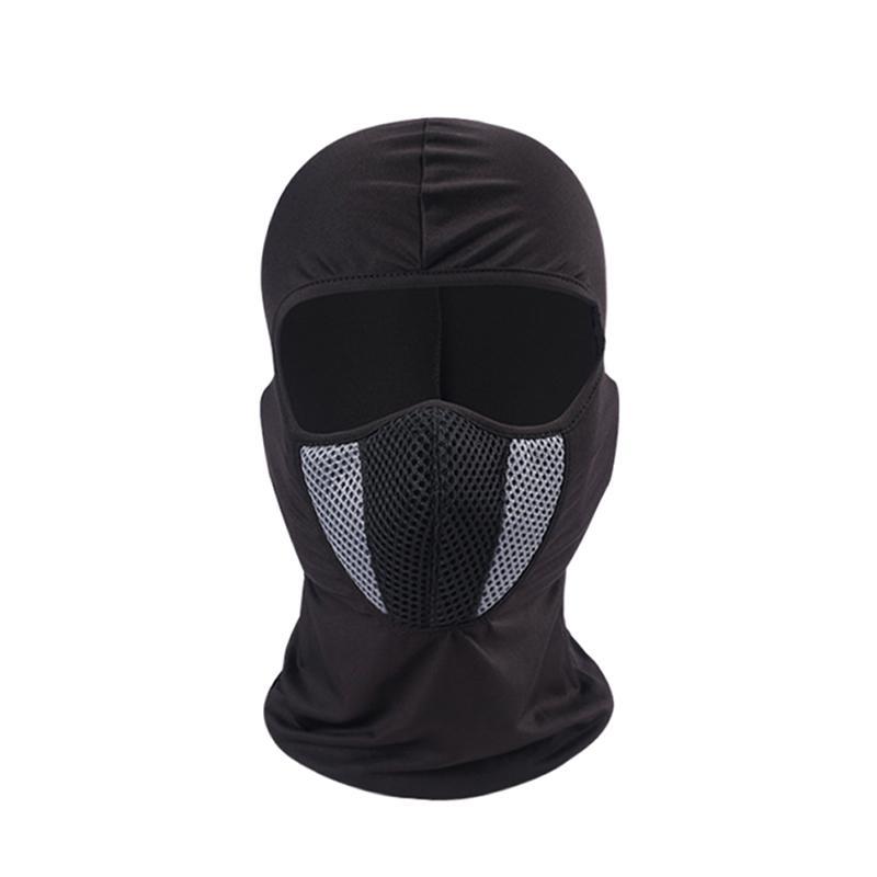 Riding Mask Hood Liner Cara Completa Montar A Caballo De La Motocicleta  Sombrero Protector Solar A Prueba De Viento Cálido A Prueba De Polvo Máscara  De CS ... 98f2f4510e965