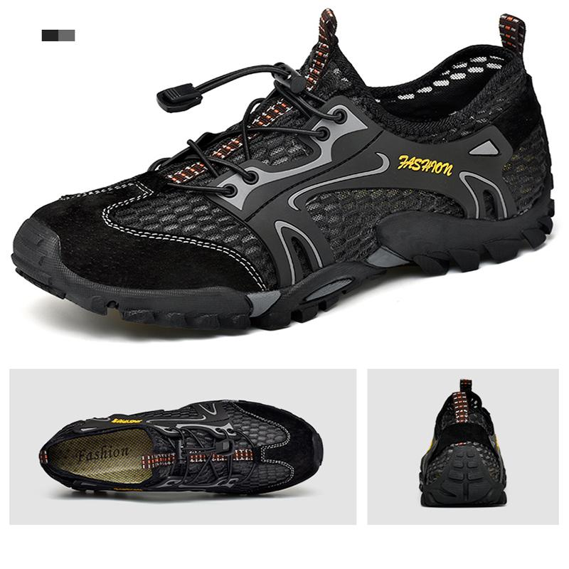 82d4978e0 Mens Sports Sandals Summer Leather Outdoor Fisherman Beach Athletics  Walking Hiking Sandals Appalachian Closed Toe Sandal Water Shoes 38 46  Comfortable ...