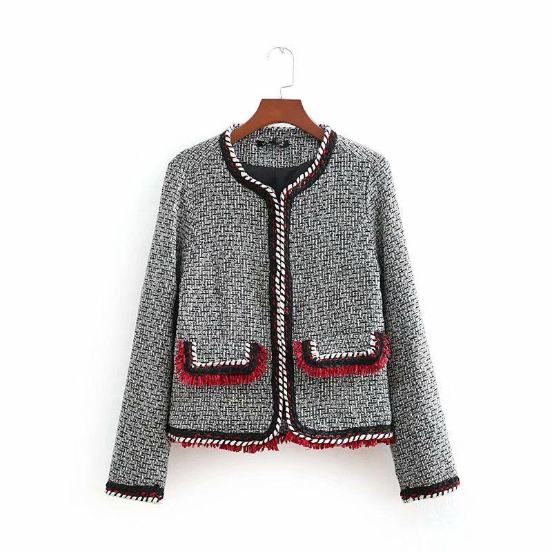 Acquista Giacca Novità quadri Vintage Tweed a 0YF0z4n