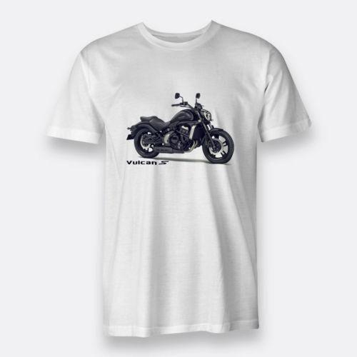 Kawasaki Vulcan S Motorcycle Regular S 3xl White T Shirt For Men S