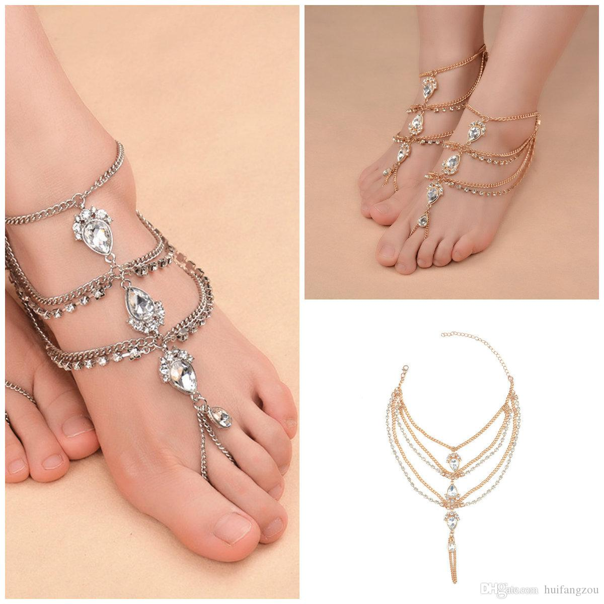 anklet real bling patriotic elephant sgs bracelets gold lucky in filled jewelry ankle bracelet