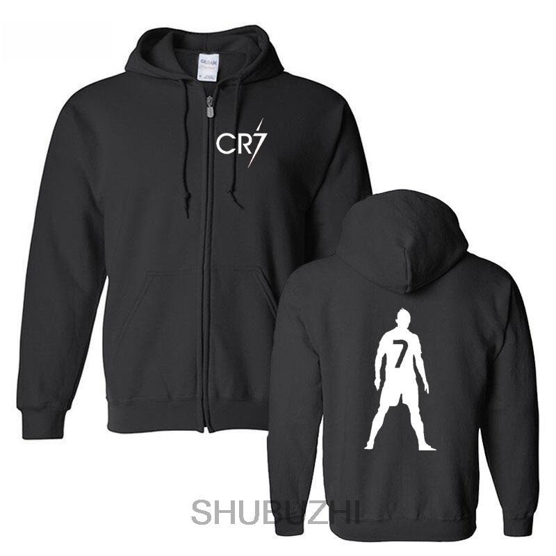 cc036482fb2 Men Cr7 Luxury Brand Hoodies Men CR7 Christiano Black Clothes Autumn ...
