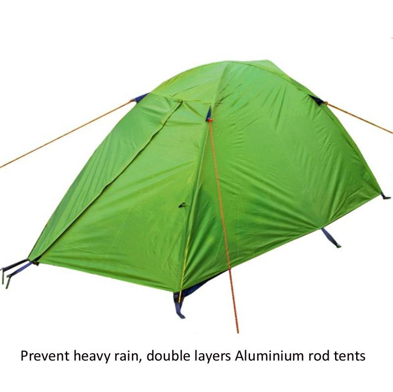 Professional 2 Person Double Layer Aluminum Rod Outdoor C&ing Hiking Tent Backpacking Climbing Tourism Waterproof Tents F203 Youth Without Shelter Tents ...  sc 1 st  DHgate & Professional 2 Person Double Layer Aluminum Rod Outdoor Camping ...