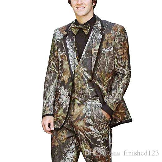 Модные две кнопки жених смокинги Нотч нагрудные groomsmen Шафер костюмы Мужские свадебные костюмы куртка+брюки+жилет+галстук нет:1023