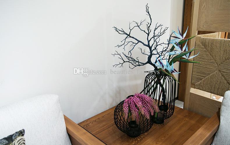 Fiori artificiali Paradise Bird Strelitzia Fiore falso di alta qualità Decorazioni la casa la festa di nozze Hotel Office Decor 80 centimetri