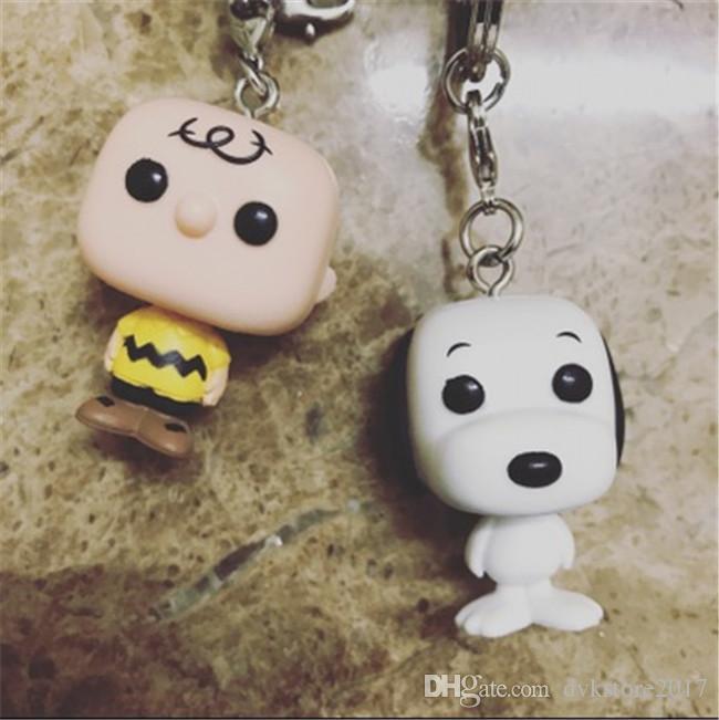 2019 Funko Pop Key Chain Cute Ver Snoopy Charlie Brown