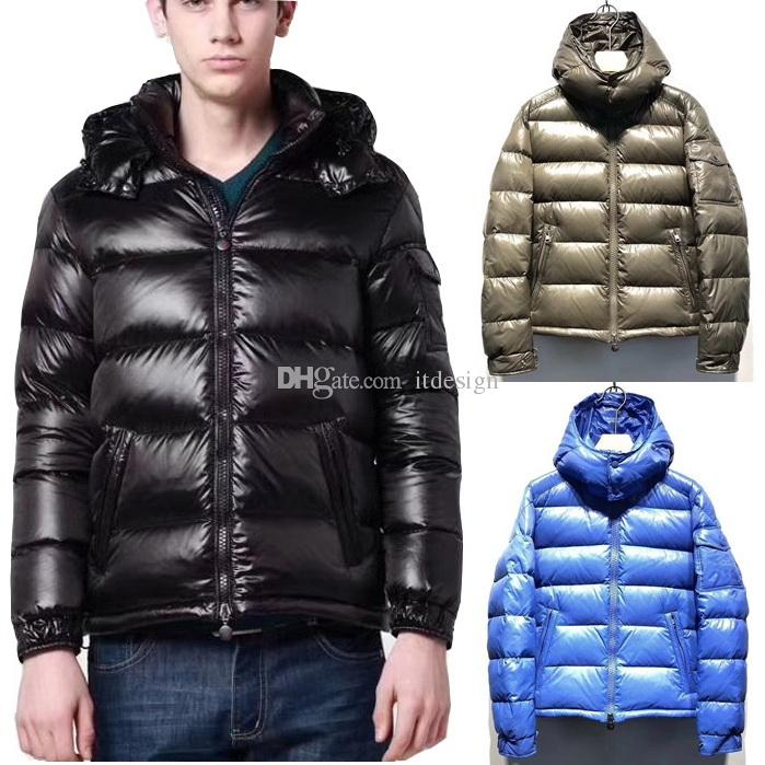 cheaper dd701 d06c8 Piumino imbottito in nylon spessa da uomo Cappotto invernale in felpa con  cappuccio caldo 5 colori