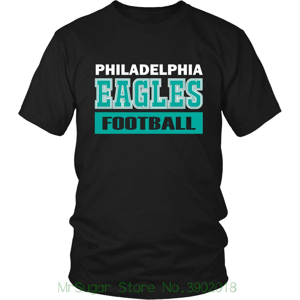 Philadelphia Footballer Fly Eagles Fly Collegiate T Shirt Philly Sportsy  Fan Shirt Short Sleeve Basic Tops T Shirt With Design It T Shirt Design  From ... 6fe5cadbb