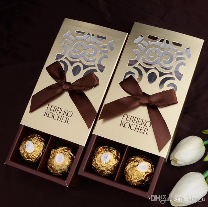 Wedding Favors And Gifts Baby Shower Paper Candy Box Chocolate Boxes