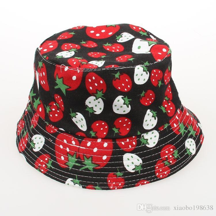 Del verano del bebé al aire libre del cubo sombreros, cápsula de la manera linda de los niños, Sun Beach Beanie, vacaciones Cap de 2-6 años sombreros de los niños para niños y niñas
