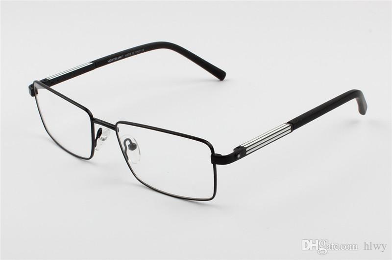Compre MB0546 Brand New Eye Glasses Frames Para Homens Óculos De Armação De  Prata De Ouro TR90 Vidro Óptico Prescrição Óculos Full Frame De Hlwy, ... 87de6200f1