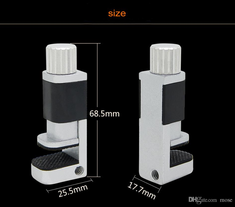 Metal Adjustable External Fixative Devices Fixture Clip Clamp iPad Mobile Phone Touch Screen Adhesive Leakage Clips Fix