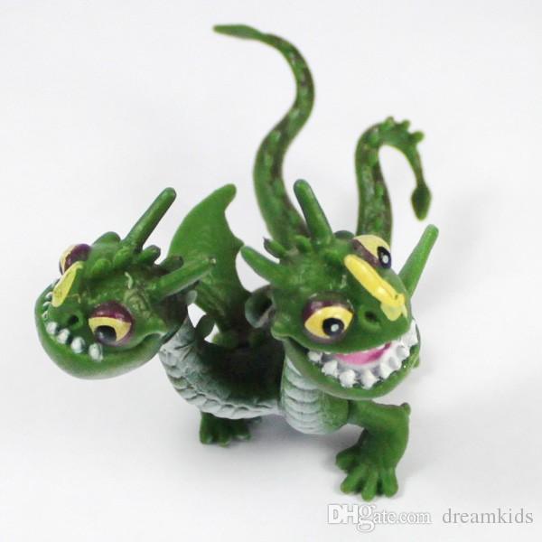 8 pz / set Come Allenare il Drago 2 Notte Fury Sdentato Gronckle Deadly Nadder PVC Figure Bambini Ragazzi Giocattoli Regalo