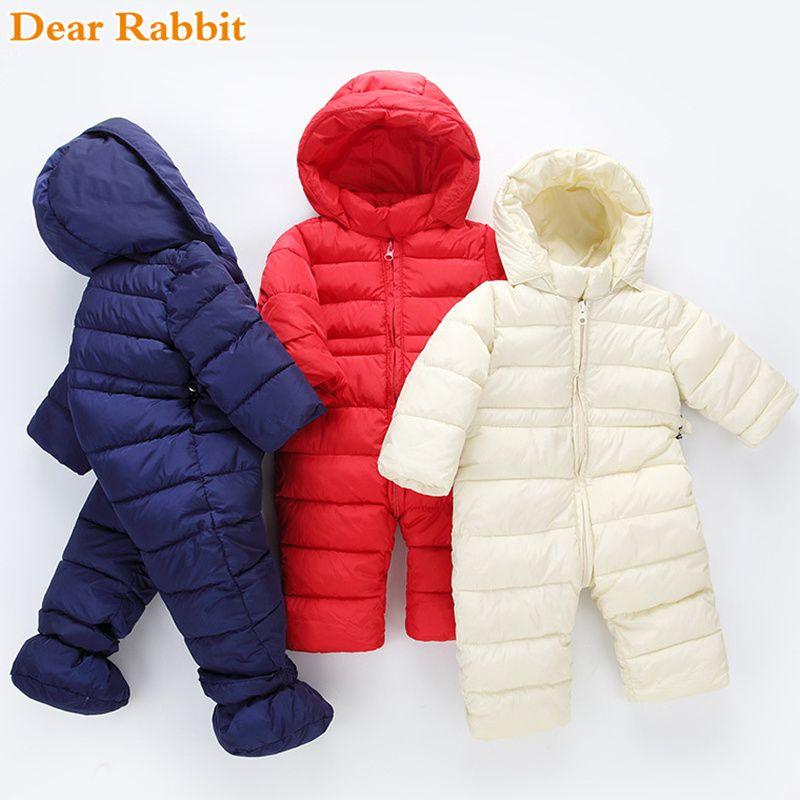 e525acaf4ddc 2019 2018 Brand Newborn Winter Baby Girl Clothes Boy Clothing Light ...