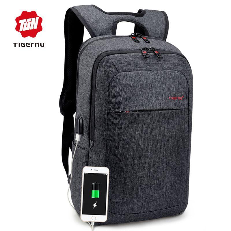 2018 Tigernu Male Backpack Bag Brand 15.6 Inch Laptop Notebook Mochila For Men  Waterproof Back Pack Bag School Backpack Women Cool Backpacks Travel  Backpack ... 2dff92a4937a0