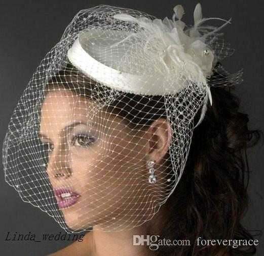 22f8a16072c21 Wholesale Wedding Hat High Quality New Arrival Beautiful Birdcage Bridal  Feathers Fascinator Bride Hats Vintage Wedding Hats 1950s Wedding Dress Hat  From ...