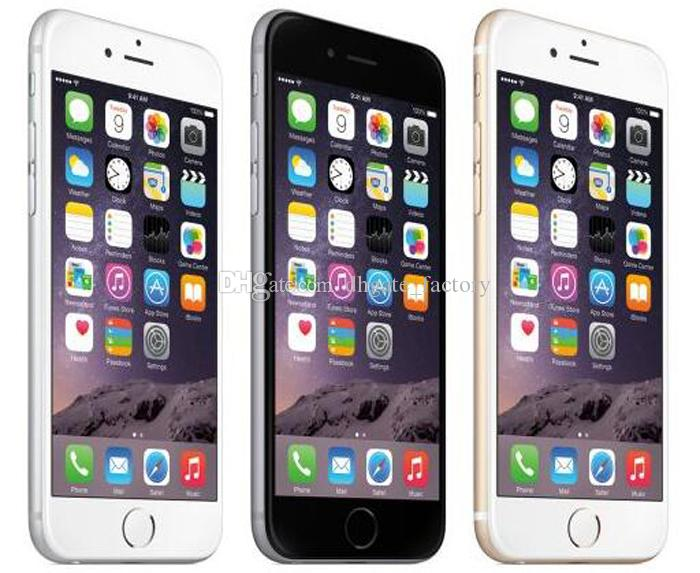 100% Original 4.7inch Apple iPhone 6 Plus iphone6 IOS Phone 8.0 MP Camera Without Touch ID 4G LTE Unlocked Refurbished Cell Phones DHL Free