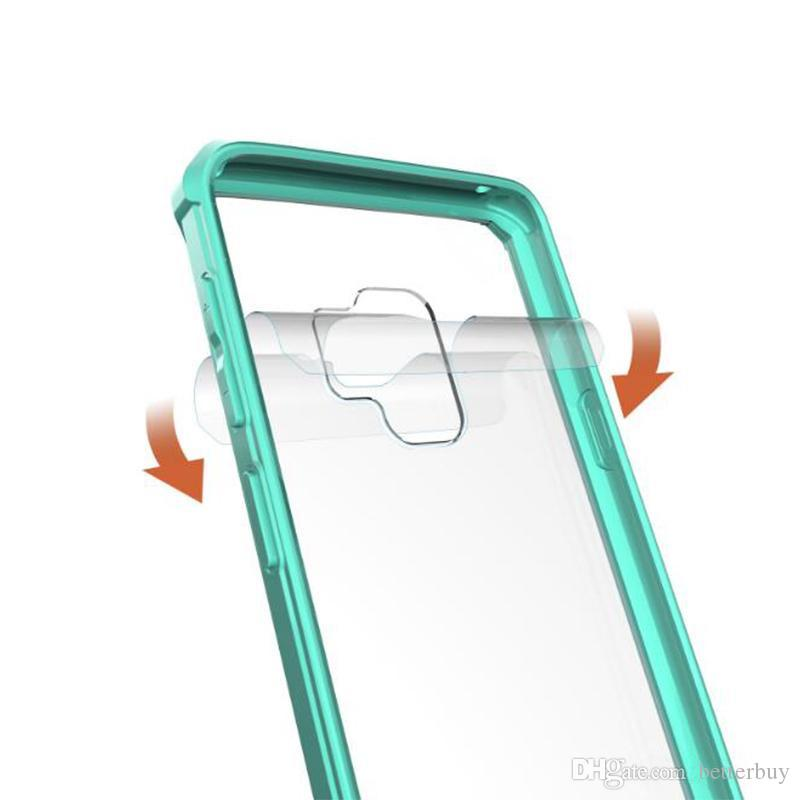 For phone Case Clear Hybrid Soft TPU Bumper Back Cover Cell Phone Cases Best Quality DHL Free