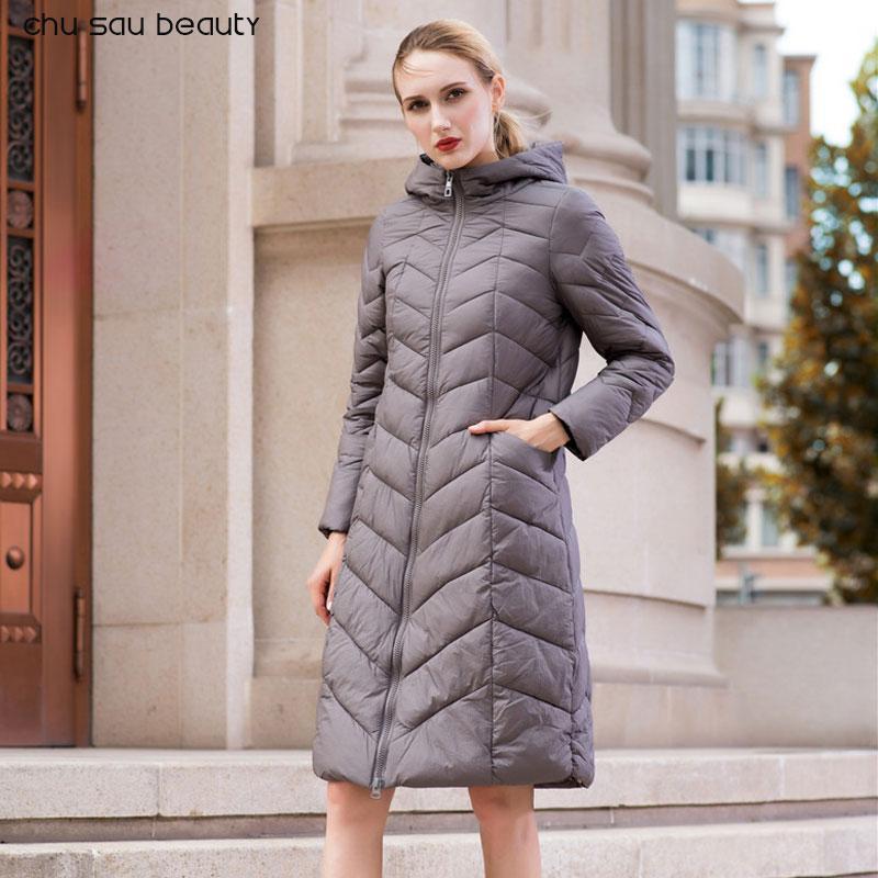 4ce7f055d40 Chu Sau Beauty Fashionable Coat Jacket Women's Warm Parkas Bio Fluff ...