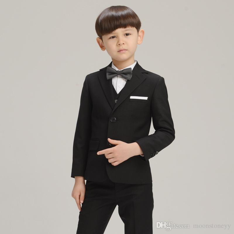 1b9876de2eb67 Children Suit Baby Boys Suits for Weddings Kids Blazer Boys Formal Prom Suit  Boys Clothes Set Big Children Classic Costumev Online with  62.86 Piece on  ...