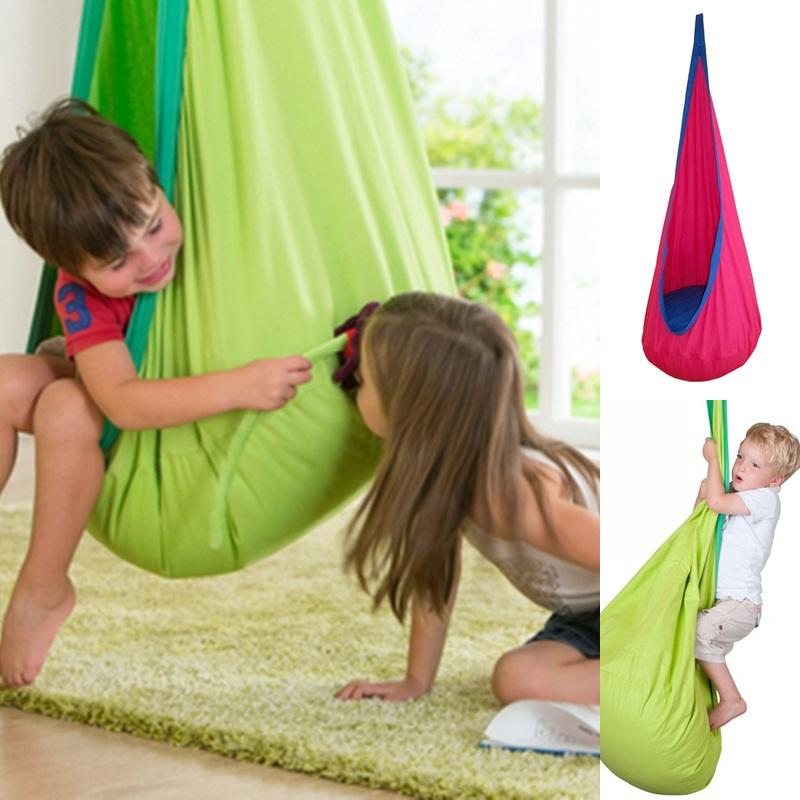 1d948ef95 Baby Swing Children Pod Hammock Indoor Outdoor Hanging Chair Adult ...