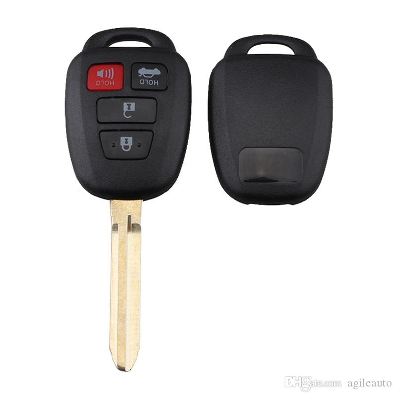 314Hz 3 Buttons Replacement Remote Car Key Fob Transmitter Clicker Alarm with G Chip for Toyota HYQ12BDM CIA_41I