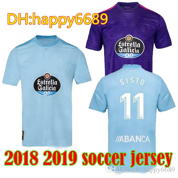 Quality Soccer Celta From Adult Jerseys Vigo Jerseys Happy6689 Vigo 2018 Home Best 2018 Home Men 2019 Soccer Aspas 2019 19 Celta Jerseys Gomez 5qEHfn