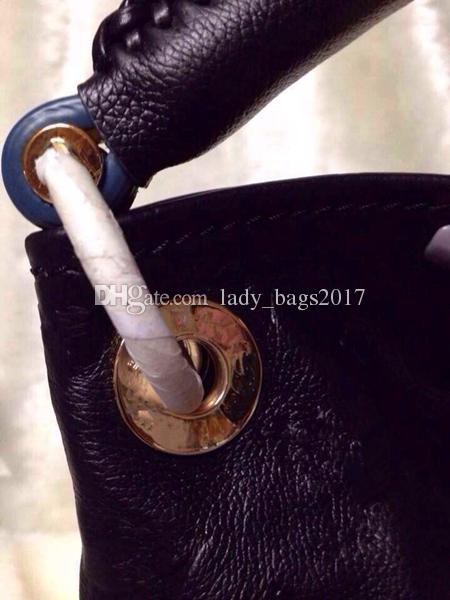 Newset Fashion bags Embossing Flowers leisure Shoulder Bag Women Messenger Bag canvas Artsy Cowhide Leather Women Bags M40249
