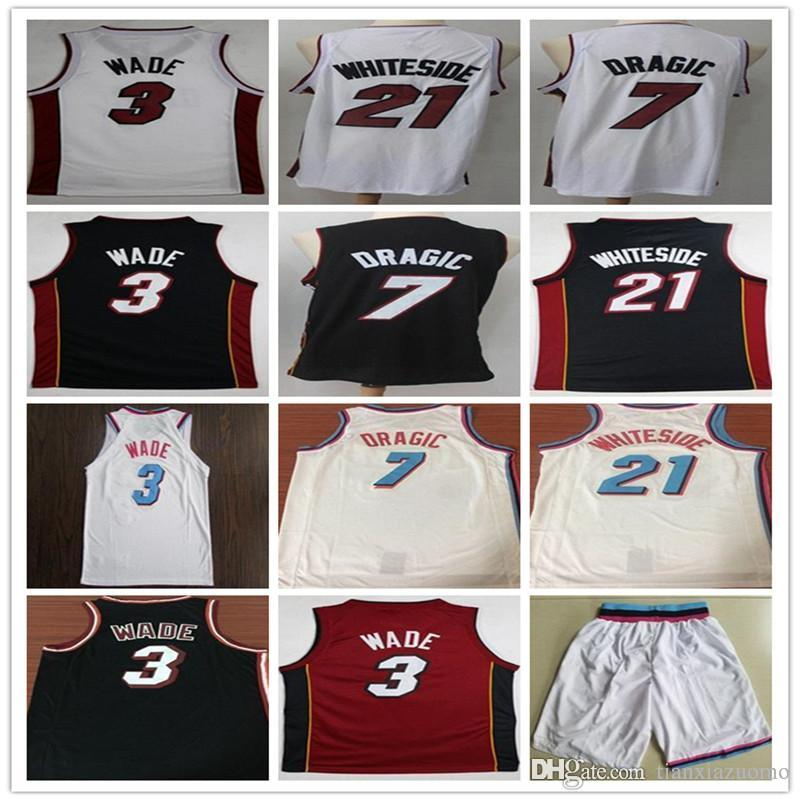 013985edeff 2018 New Men s City  3 Dwyane Wade 7 GORAN DRAGIC 21 HASSAN ...