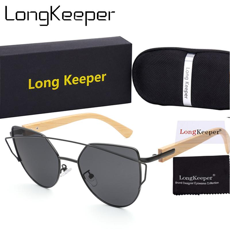 f3b43773b 2018 Vintage Wood Grain Sunglasses Men Brand Designer Classic Bamboo ...