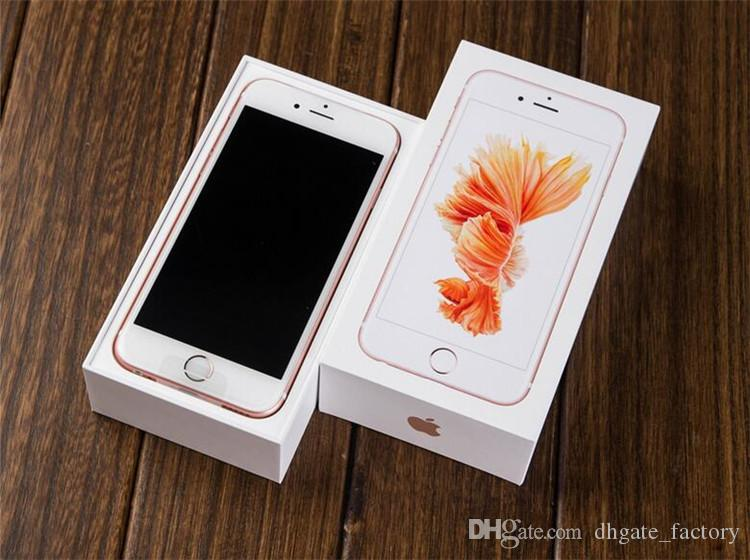 """Unlocked Apple iPhone 6s Plus Dual Core 2GB RAM 16/32/64/128GB ROM 5.5"""" 12.0MP Camera 4K Video iOS 10 LTE without Touch ID"""