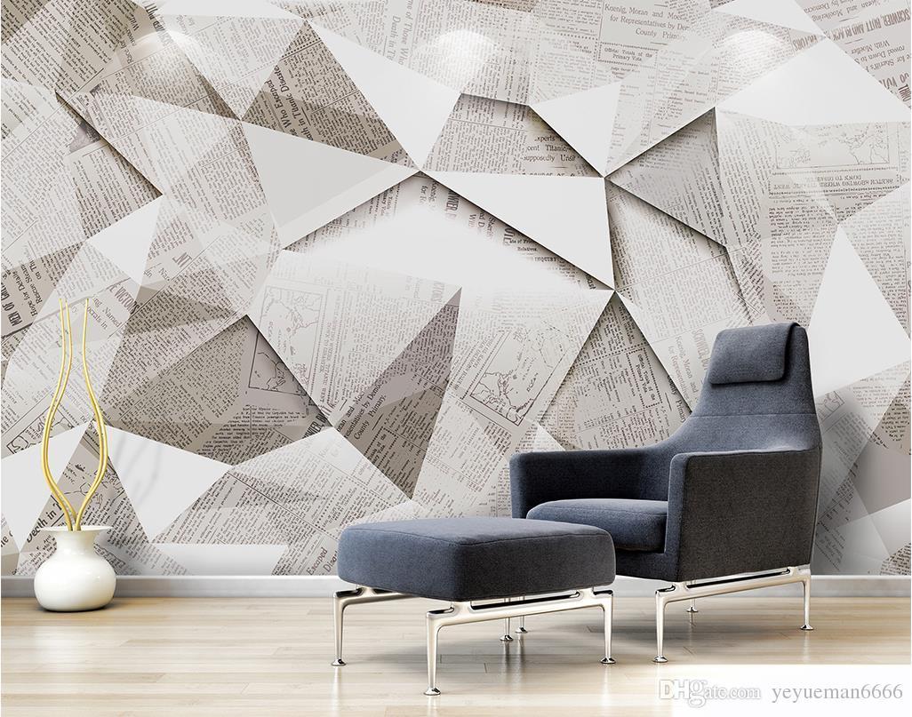 Простой современный настроить обои Home Decor текстура дерева 3D Mural обои нетканые обои гостиная фон