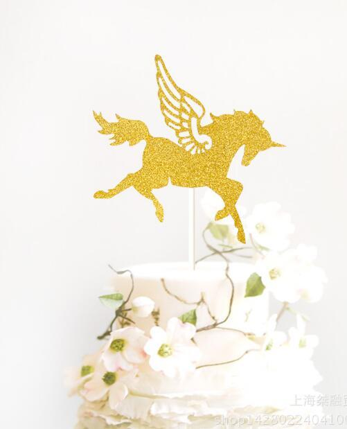 2019 Carousel Horse Cupcake Toppers Wedding Birthday Party Cake