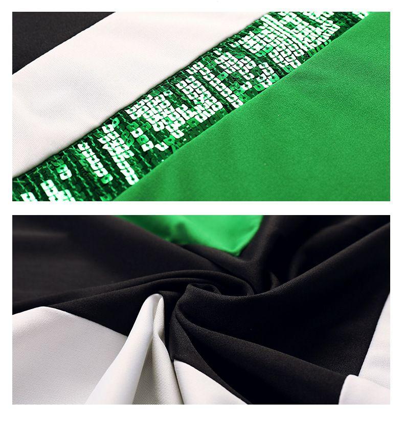 Hohe Qualität Frauen Kleidung Pailletten Arbeit Kleid Partei Bodycon Kleider für den Großhandel Einzelhandel