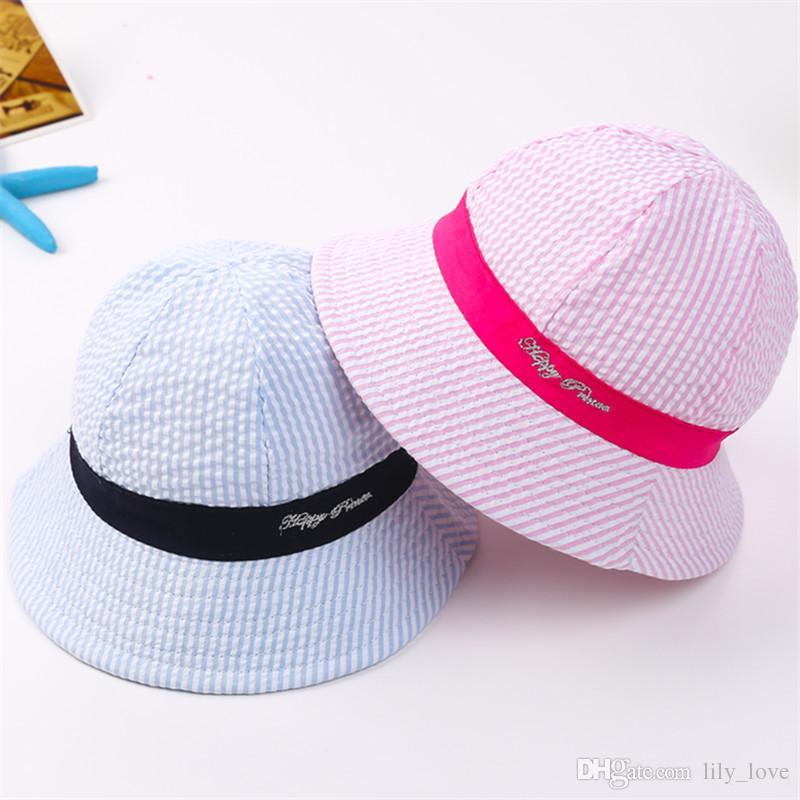 fdc33bc3 2019 Boy Girl Beanie Hat Caps Fashion Bucket Children Caps Kids Hat Boys  Girls Sun Hat Kids Cap Hats From Lily_love, $2.54 | DHgate.Com