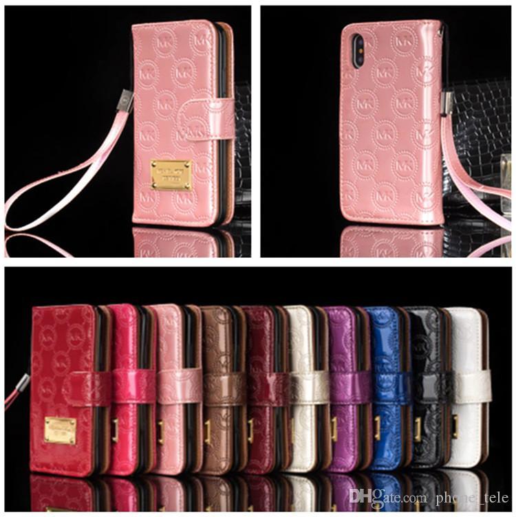 bright iphone 8 flip case