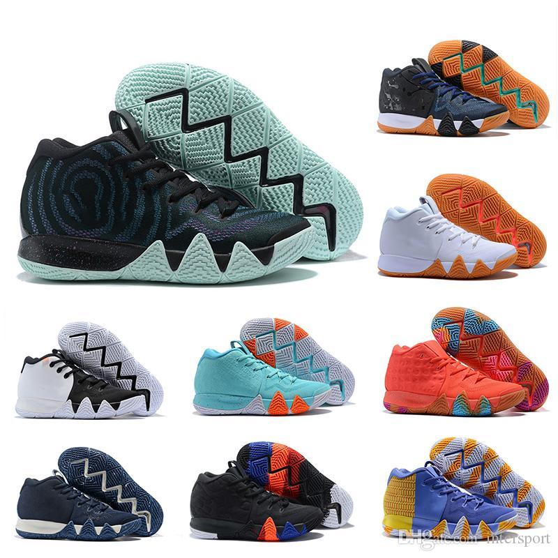 superior quality 1c9d8 c7036 Acheter 2018 Nouvelle Automne Kyrie Baskets Chaussures Irving Pas Cher  Vente Sneakers Sport Hommes Chaussure Wolf Gris Team Rouge En Plein Air  Baskets ...