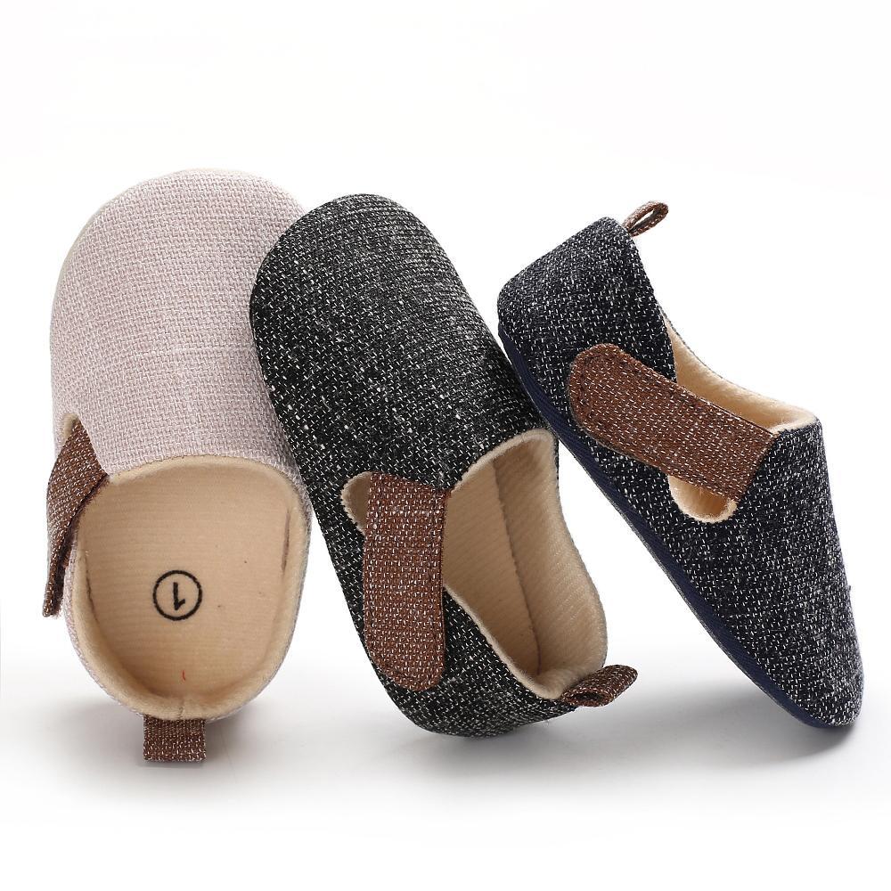 99646f3320 Compre 2018 Zapatos Para Niñas Suela Suave Antideslizante Cinta Maigc  Lienzo Primavera Otoño Toddler Prewalker Zapatos Para Niñas De Calidad  Superior A ...