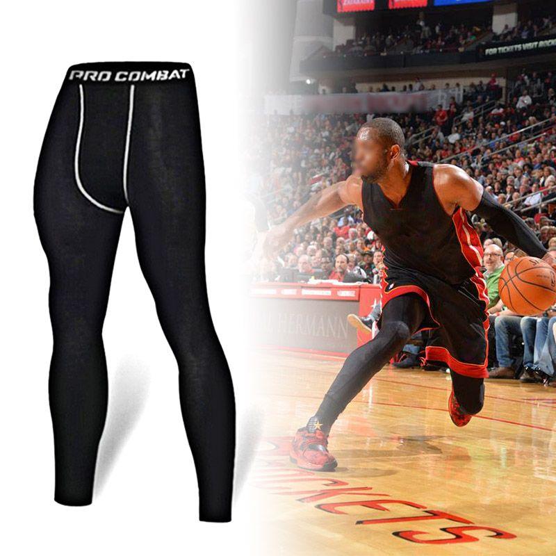 27e398d90b9b5 2019 Basketball Compression Pants Sports Running Tights Men Jogging  Leggings Fitness Gym Clothing Sport Leggings Yoga Men From Superfeel, $47.1  | DHgate.Com