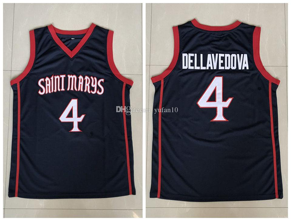Matthew Dellavedova St. Mary S Gaels College Retro Classic Basketball  Jersey Mens Embroidery Stitched Custom Any Number And Name Jerseys UK 2019  From ... 022aa8255