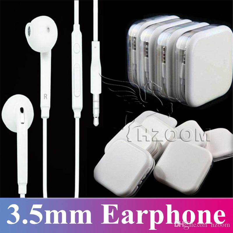 1ed3bead41b New Arrival Wholesale White Headphones Earbuds for Jack With Mic ...