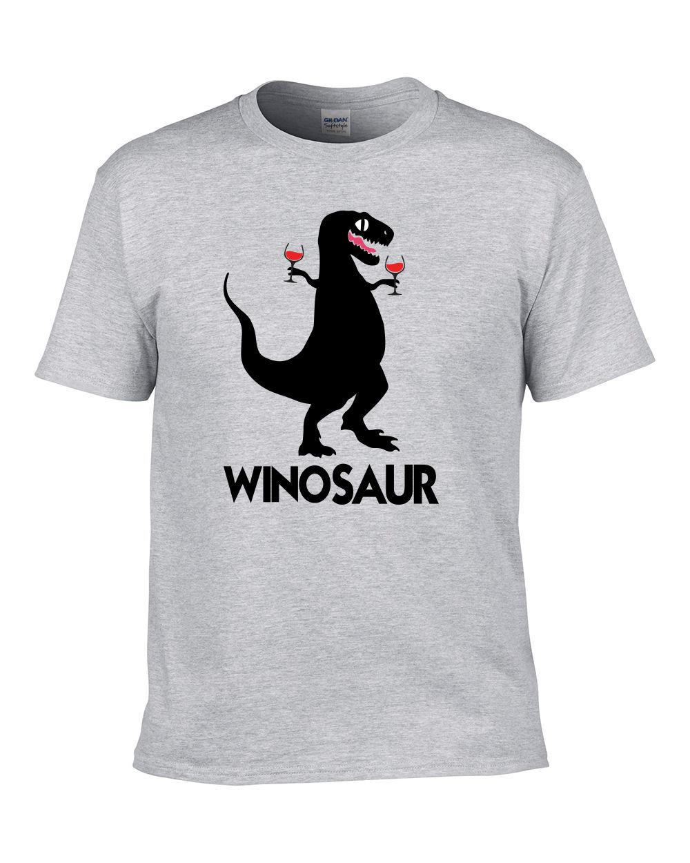 58f73bfab Winosaur Dinosaur Wine T Rex Funny Illustration Mum Gift Mothers Father T  Shirt Crazy T Shirts Online Cool Looking T Shirts From Fashiontshirt, ...