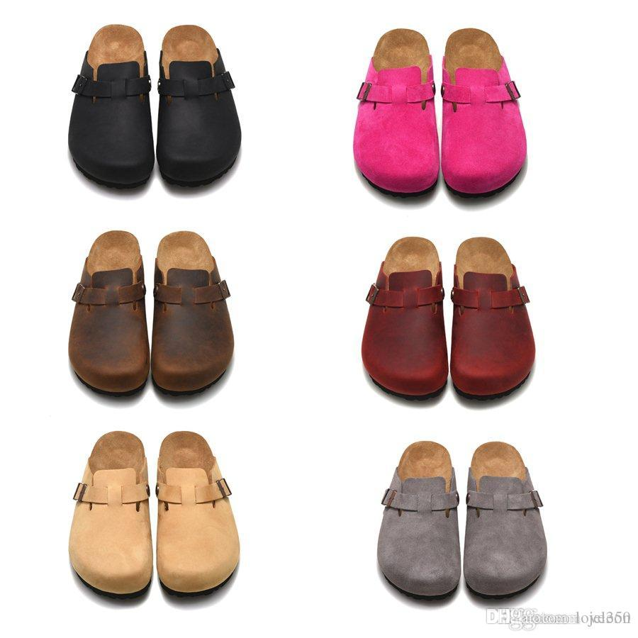 36f167ed5eca 2018 Women to Men Fur Slippers Mules Flats Suede Mule Shoes Luxury ...