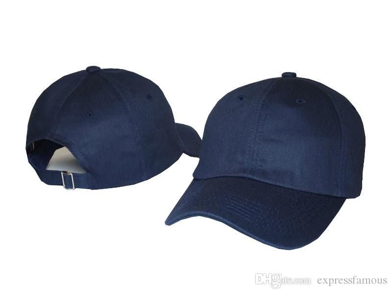 Blank plain custom baseball cap basketball hats adjustable classic snapback for men women curved sports Blank Solid Golf Sun Visor cap