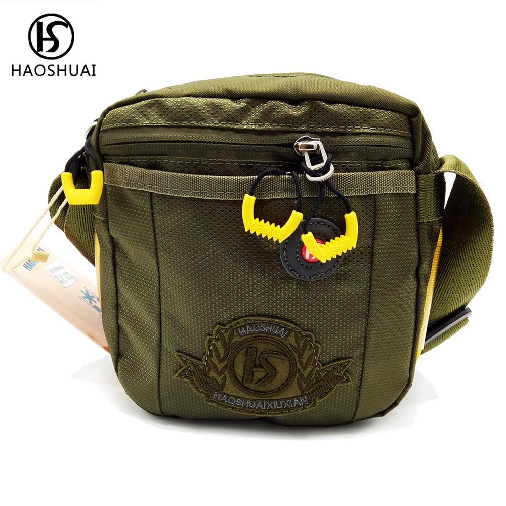 7226ccdb132c Men Nylon Messenger Bags Crossbody Waterproof Men Small Bag Pack Shoulder  Bags New Brand Ladies Purses Tote Handbags From Amoyshoes